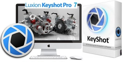 Luxion Keyshot PRO v7.2 With Crack (Keygen) Free Download