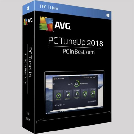 AVG PC TuneUp 2018 Download Full Version for Windows 7