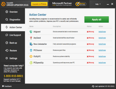 TweakBit Driver Updater 2.0.1.12 Crack With License Key 2020