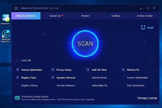 Advanced SystemCare 12.1.0 PRO Key 2019 [Crack] Free Download