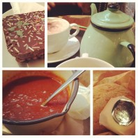 The food from the coffee shop (I know you wondered why were there so long)