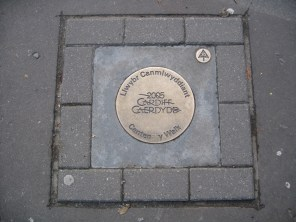 Love finding plaques on the ground.