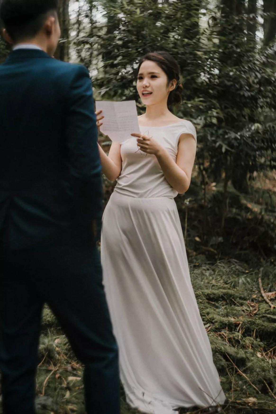 乳喵團隊黑雨美式婚紗