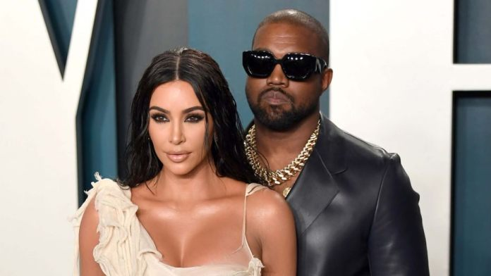 Rapper Kanye West apologizes to Kim Kardashian for sharing private issues during the campaign rally and on social media sites