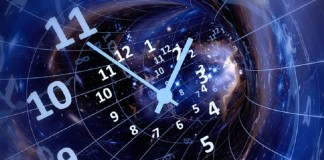 What is time in terms of Physics