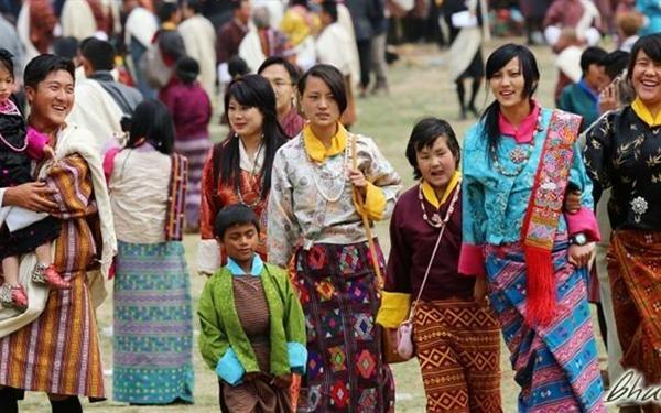 People are less materialistic in Bhutan