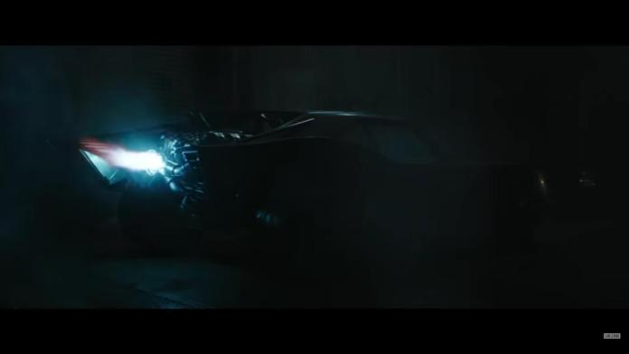 Image of the Batmobile from the trailer The Batman
