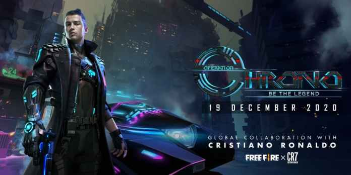 Free fire chrono operation featuring CR7