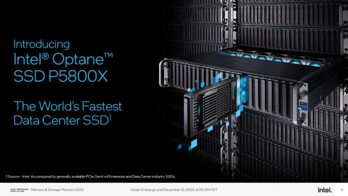 Intel Optane SSD P5800X - The world's fastest SSD