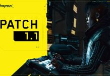 cyberpunk 2077 patch 1.1 released