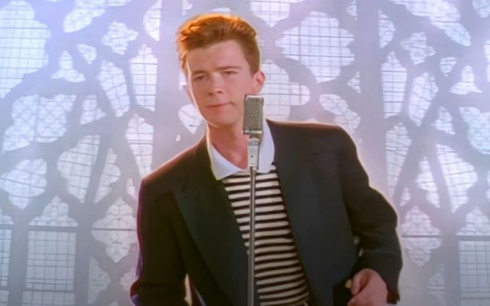 ai remastered rick astley-never gonna give you up