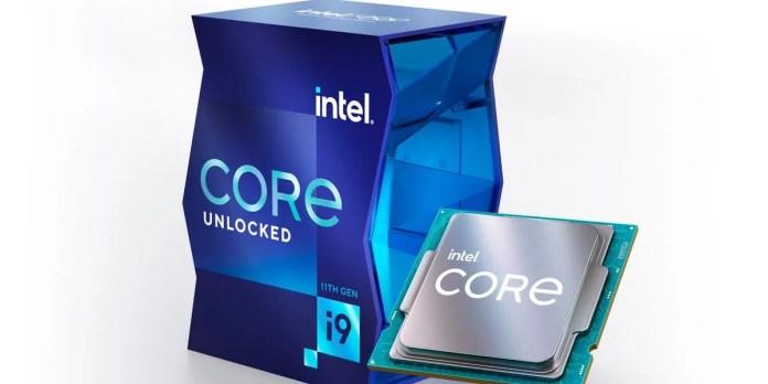 Intel's 11th Gen desktop chips offer fewer cores but faster speeds