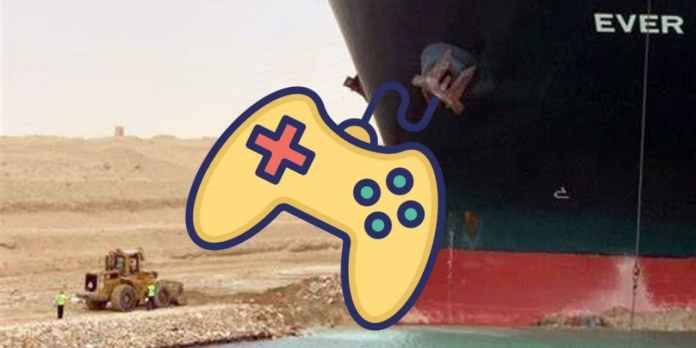 Suez Canal Boat Meme is Now a Game Starring Bulldozer