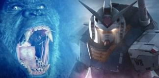 Gundam Live-Action Movie's director-approved 'KonGundam' Fanart - Craffic