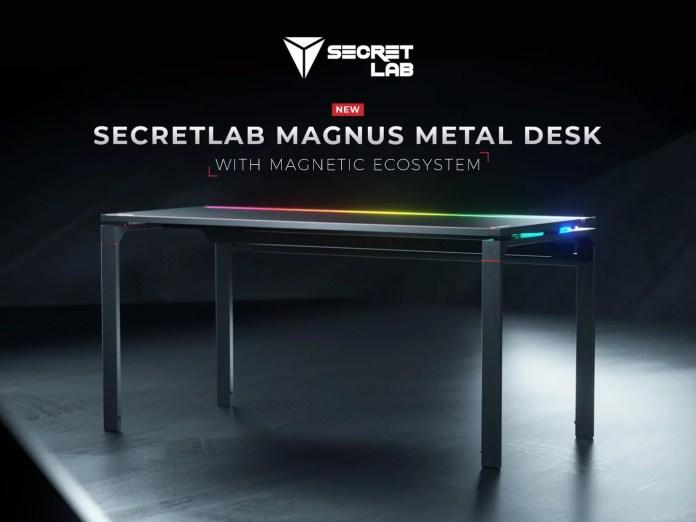 Secretlab's MAGNUS Metal Desk Comes as a big surprise for The Gaming Community! - Craffic