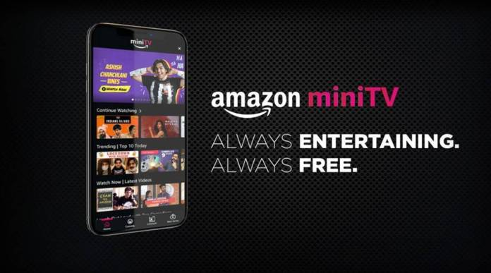 'Amazon miniTV' A Free In-app Video Streaming Platform launched in India