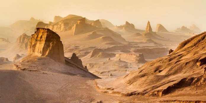 Iran's Lut Desert is, even more, hotter than California's Death Valley