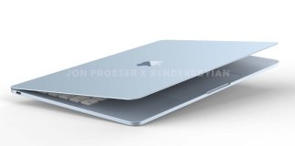 Upcoming Macbook Air's exclusive first look shown off in new renders