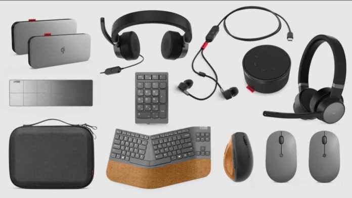 Lenovo Go Wireless Accessory Family adds new Laptop Charging Kit, Split Keyboard, and Vertical Mouse