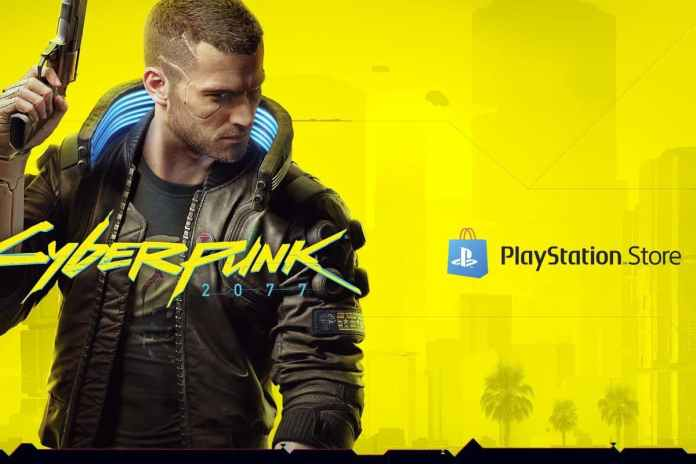 Cyberpunk 2077 has finally returned to Sony's PlayStation Store