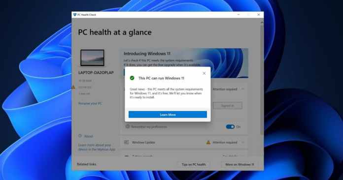 Updated PC Health Check Tool tells you why you can't have Windows 11