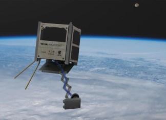 Wooden satellite WISA Woodsat