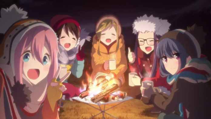 Some Relaxing Anime - Laid-Back Camp