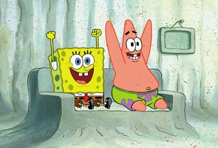 Real-Life SpongeBob SquarePants and Patrick Star Spotted