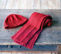 Knitting Patterns Hats And Scarves | Patterns Gallery