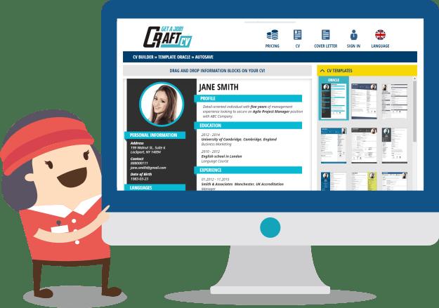 Resume Builder Online - Creative Resume Templates   CraftCv