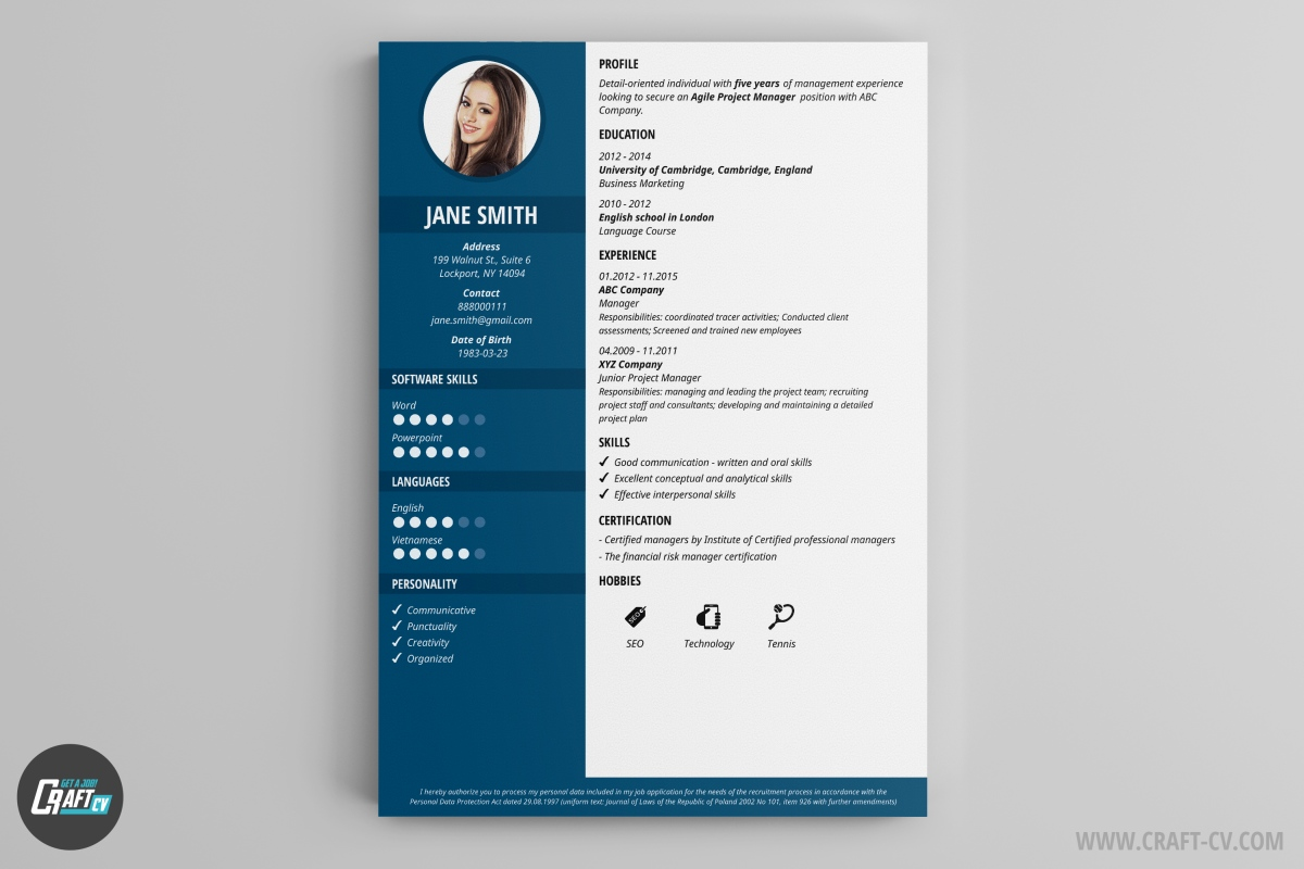 cv originaux design template powerpoint