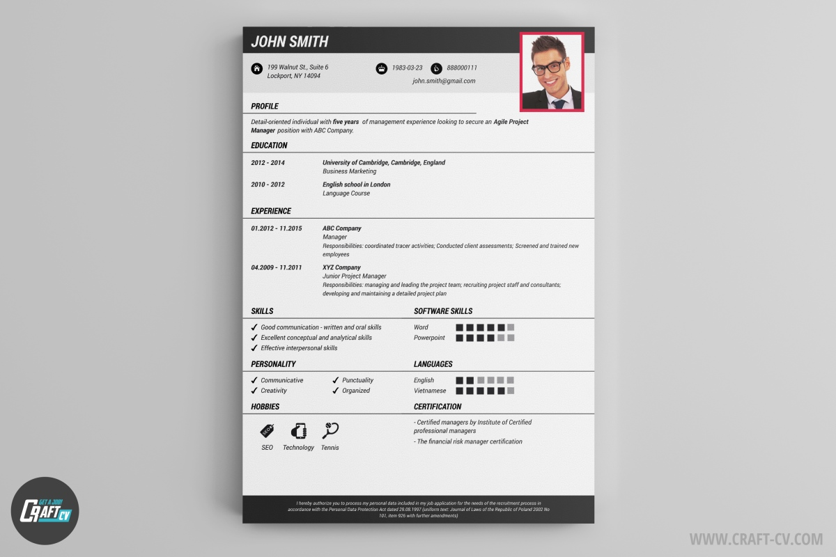 How To Create A Resume Template Cv Maker Professional Cv Examples Online Cv Builder Craftcv
