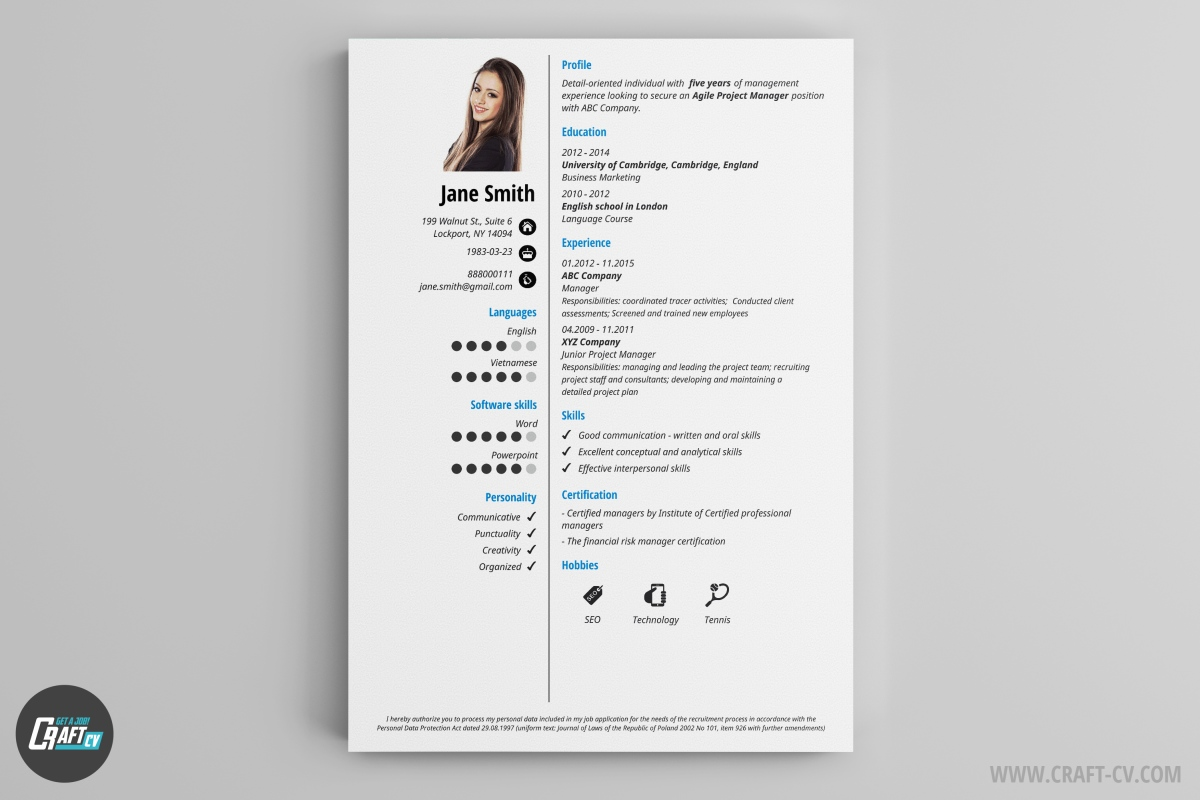 Resume Builder Software Download Pc Modelos De Cv Plantillas De Curriculum Vitae Craftcv