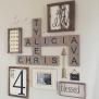 15 Scrabble Tile Wall Art Decor Diy Craft Mart