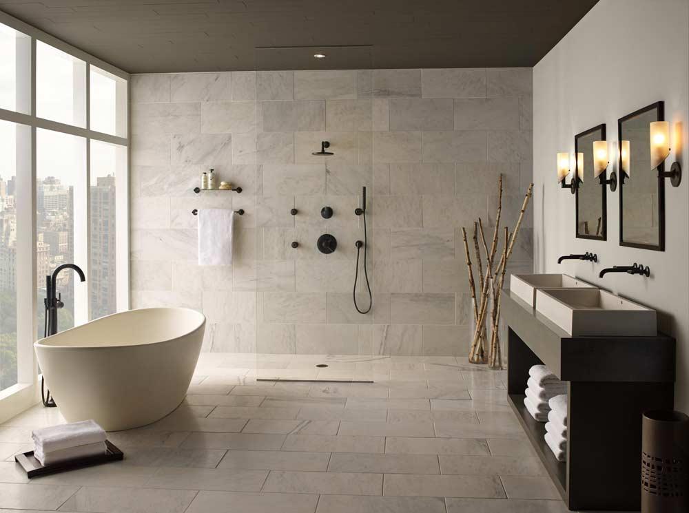 Create Spa-like Bathroom Oasis At Home (inspirational