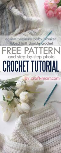 Half Double Crochet Stitch Tutorial and the Easiest ...