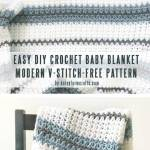 Easy Free Crochet Baby Blanket Patterns You Can Finish In A Weekend Craft Mart