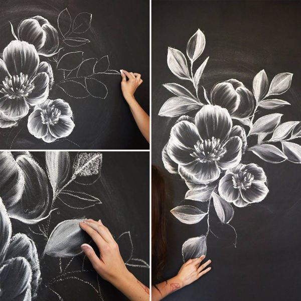 Draw Flowers And Turn Drawings