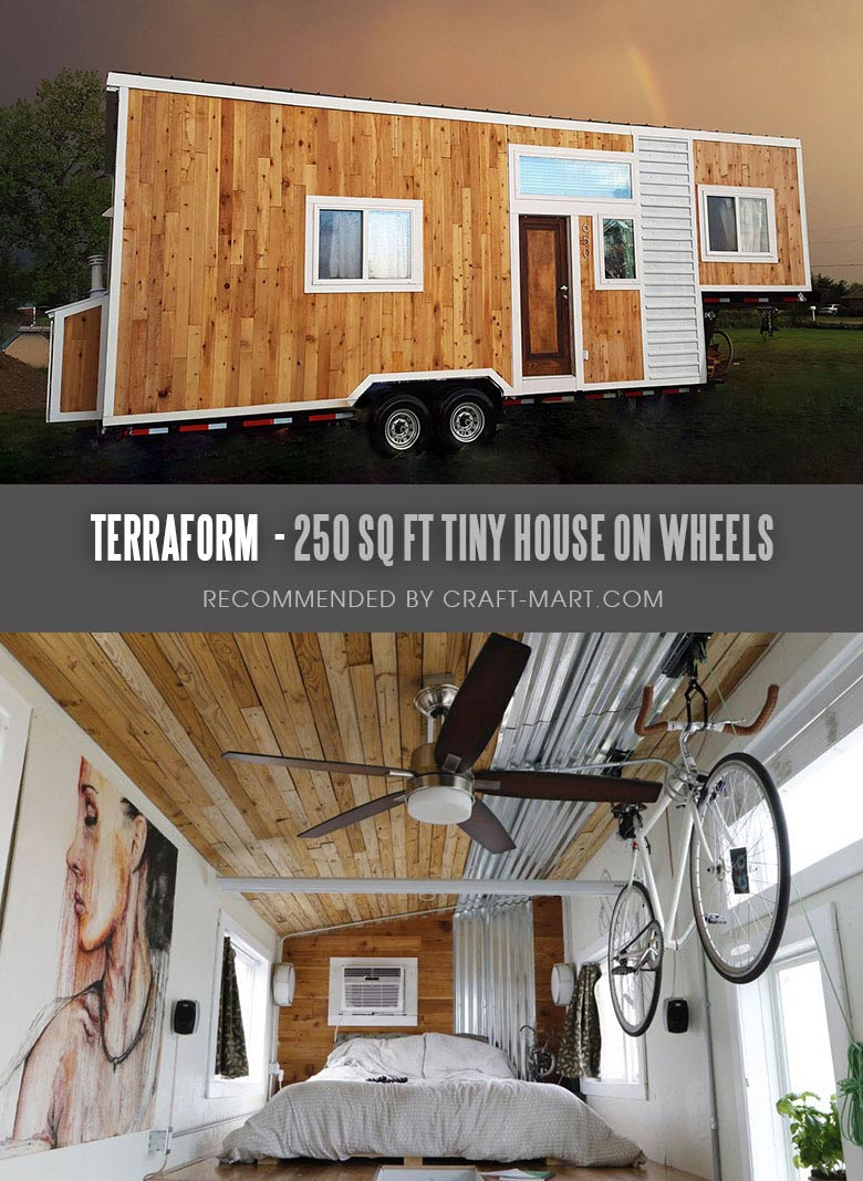 hight resolution of terraform one 250 sq ft modern tiny home on wheels