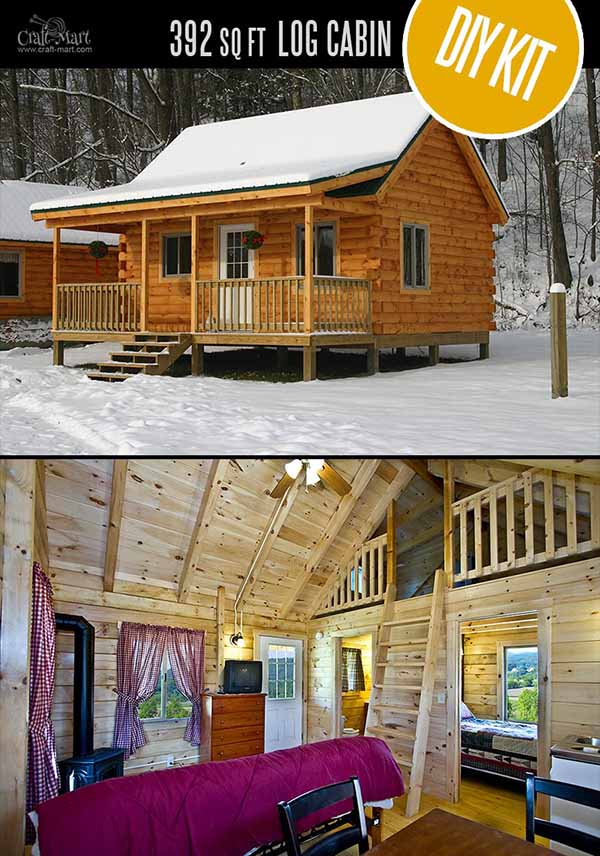 Log Cabin Kits | Shipped to All 50 States | Honest Abe Log Homes