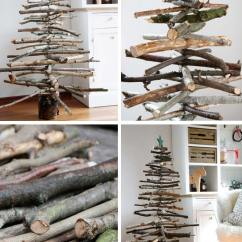 Decorate Small Living Room For Christmas Antique White Furniture 15 Diys To A Craft Mart How Diy Wooden Branches Tree