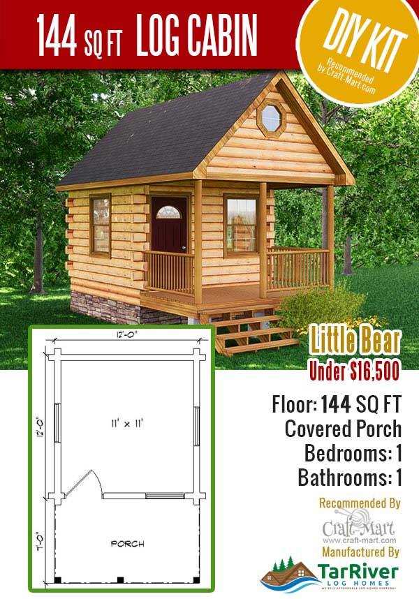 Cabela's Log Cabin Kits For Sale : cabela's, cabin, Cabin, Project, Craft-Mart