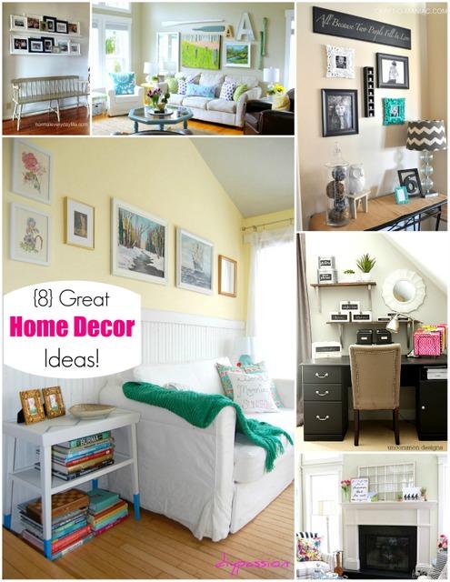 8 Great Home Decor Ideas