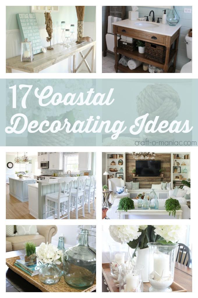 10 Coastal Decorating Ideas  CraftOManiac