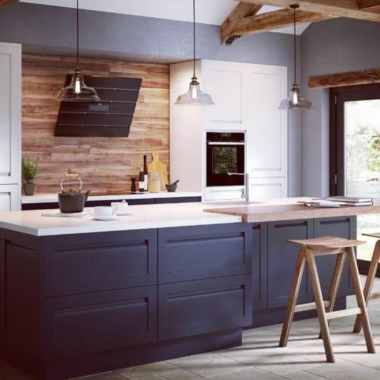 Galley Kitchen Colour Schemes