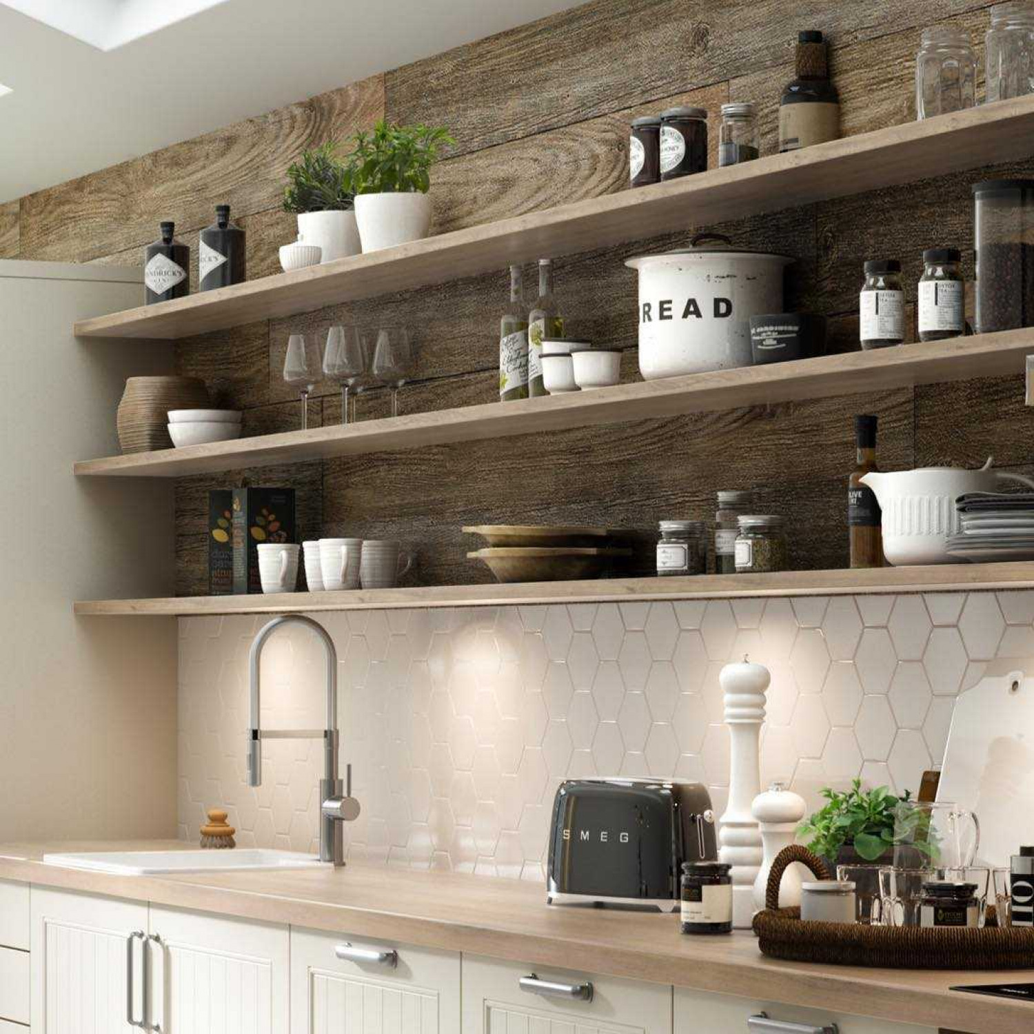 Kitchen shelving ideas Discover storage ideas for your ...