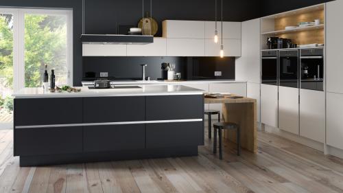 Fitted Kitchens UK Omega PLC Modern  Classic Kitchen Design