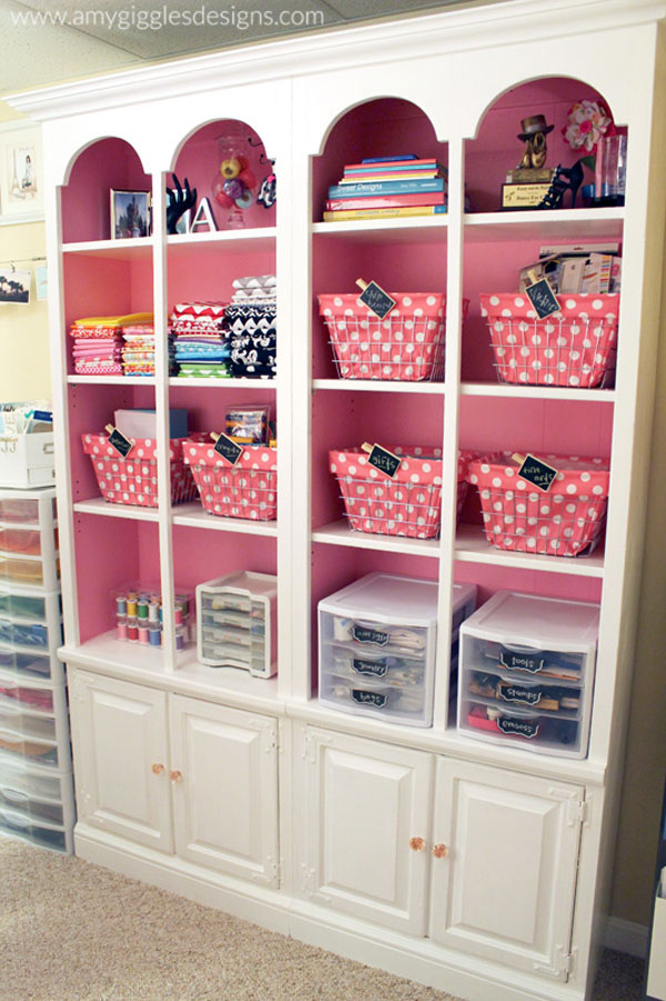 Craftaholics Anonymous®  Small Craft Room Tour Amy