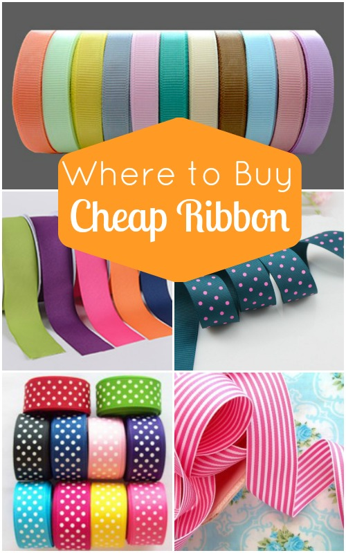 Craftaholics Anonymous®  Where To Buy Cheap Ribbon