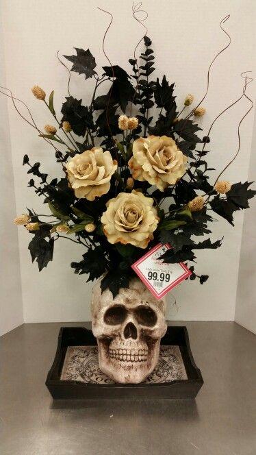 Skull Vase